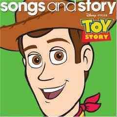 TOY STORY BY DISNEY SONGS & STORY (CD)